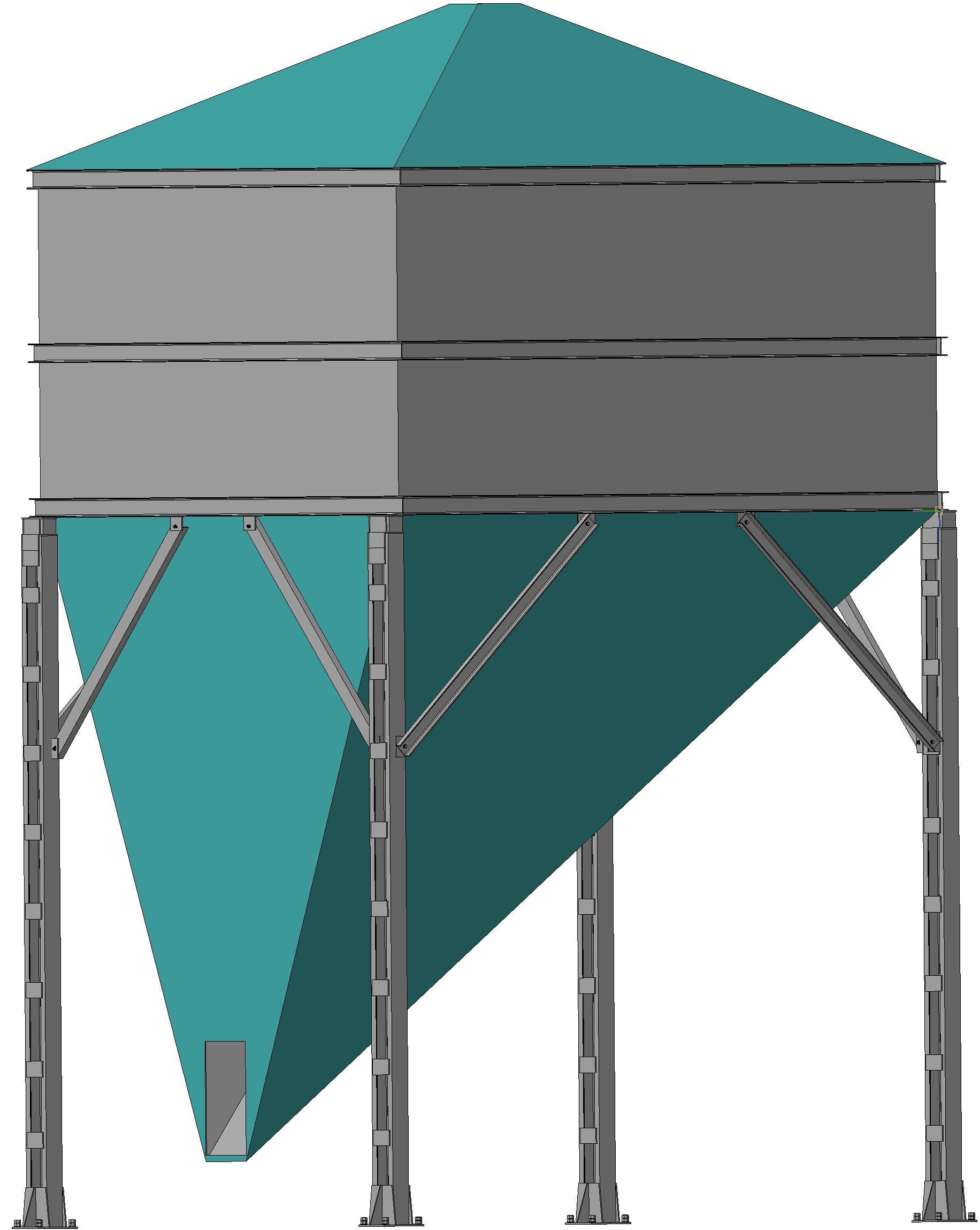 Зернохранилище из колес, даром и шикарно FORUMHOUSE